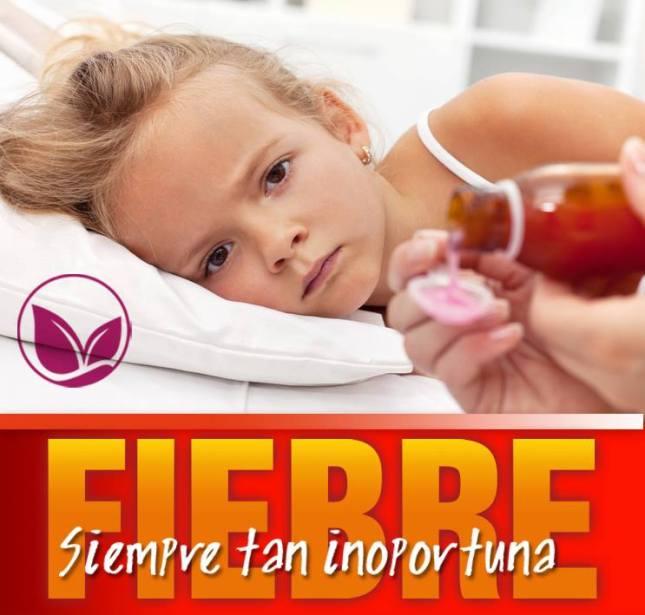 Niños con fiebre, padres alarmados